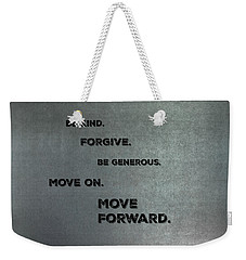 Be Kind #1 Weekender Tote Bag