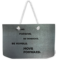 Be Kind #2 Weekender Tote Bag