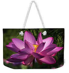 Be Like The Lotus Weekender Tote Bag