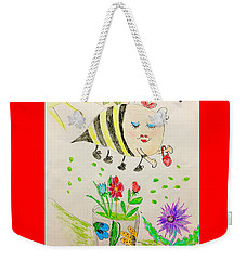 Be Mine Bumblebee Weekender Tote Bag