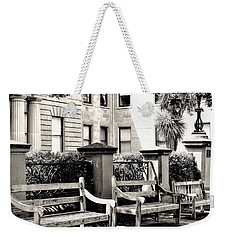 Be Seated Weekender Tote Bag