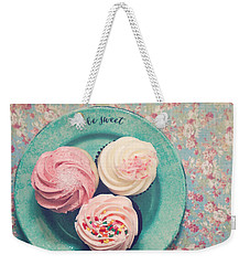 Be Sweet Weekender Tote Bag