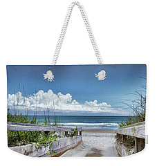 Beach Access Weekender Tote Bag