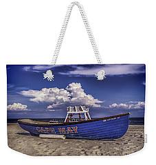 Beach And Lifeboat Weekender Tote Bag
