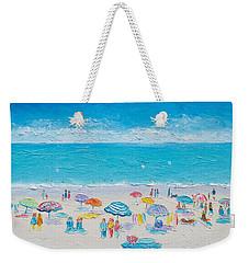 Beach Art - Fun In The Sun Weekender Tote Bag by Jan Matson