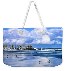 Beach At Isle Of Palms Weekender Tote Bag
