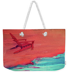 Beach At Night Weekender Tote Bag