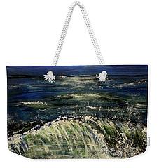 Beach At Night Weekender Tote Bag