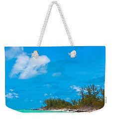Beach At North Bimini Weekender Tote Bag
