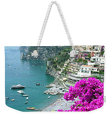 Beach At Positano Weekender Tote Bag