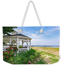 Beach At Rock Hall Weekender Tote Bag