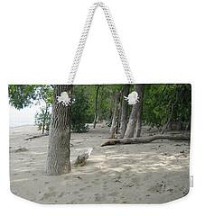 Beach At The Lake Weekender Tote Bag