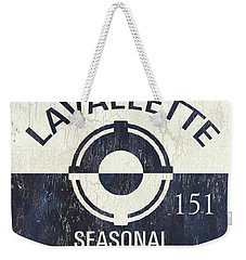 Beach Badge Lavalette Weekender Tote Bag