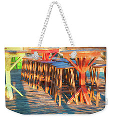 Beach Bar Morning Weekender Tote Bag