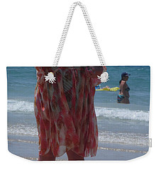 Beach Beauty Weekender Tote Bag by Esther Newman-Cohen