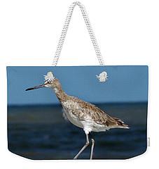 Beach Bird Weekender Tote Bag by Skip Willits