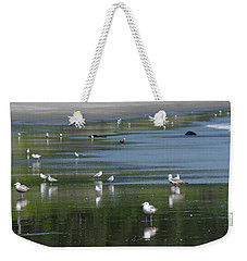 Beach Birds Weekender Tote Bag