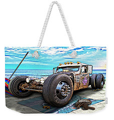 Beach Blanket Rat Rod Weekender Tote Bag