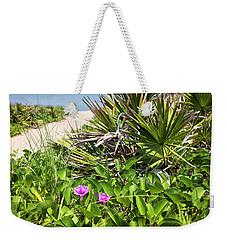 Beach Blooms Weekender Tote Bag