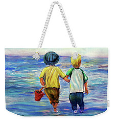 Beach Buddies Weekender Tote Bag