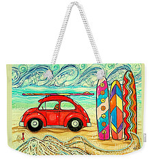 Beach Bug Weekender Tote Bag