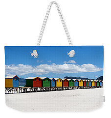 Beach Cabins  Weekender Tote Bag