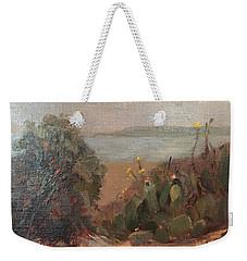 Beach Cactus Weekender Tote Bag