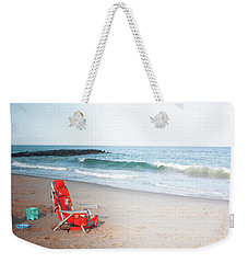Beach Chair By The Sea Weekender Tote Bag