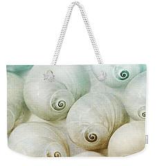 Weekender Tote Bag featuring the photograph Beach Club by Robin-Lee Vieira