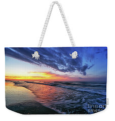 Beach Cove Sunrise Weekender Tote Bag