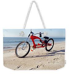 Beach Cruiser Weekender Tote Bag