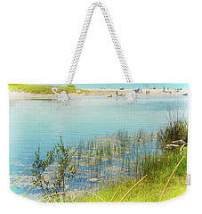 Beach Day In August Weekender Tote Bag by Michelle Calkins