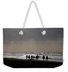 Beach Day Silhouette Weekender Tote Bag