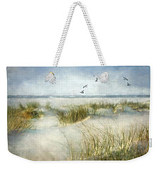 Weekender Tote Bag featuring the photograph Beach Dreams by Annie Snel