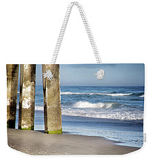 Weekender Tote Bag featuring the photograph Beach Dreams by Phil Mancuso