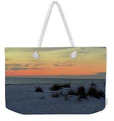 Weekender Tote Bag featuring the photograph Beach Evening Tones by Deborah  Crew-Johnson