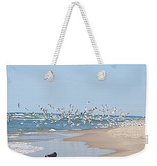 Beach Flight Weekender Tote Bag