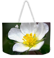 Beach Flower Weekender Tote Bag