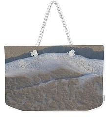 Beach Foam Weekender Tote Bag by Margaret Brooks