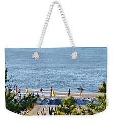 Beach Fun At Cape Henlopen Weekender Tote Bag