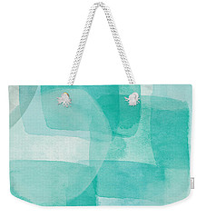 Beach Glass- Abstract Art By Linda Woods Weekender Tote Bag by Linda Woods