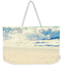 Weekender Tote Bag featuring the photograph Beach Gold by Sharon Mau