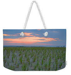 Weekender Tote Bag featuring the photograph Beach Grass Farm by  Newwwman