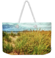 Beach Grass Path - Painterly Weekender Tote Bag
