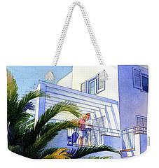Beach House At Figueres Weekender Tote Bag