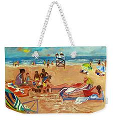 Beach In August Weekender Tote Bag