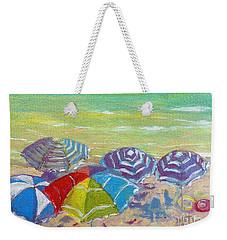 Beach Is Best Weekender Tote Bag