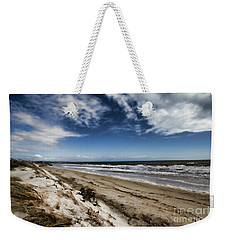 Weekender Tote Bag featuring the photograph Beach Life by Douglas Barnard