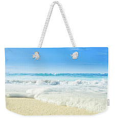 Weekender Tote Bag featuring the photograph Beach Love Summer Sanctuary by Sharon Mau