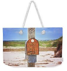 Beach Mail Weekender Tote Bag
